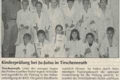 1999-07-12-Kinderprüfung-bei-Ju-Jutsu-in-Tirschenreuth